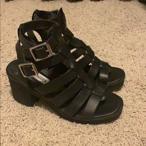 Steve Madden Shoes - Steve Madden heeled gladiator clueless sandal